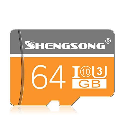 JYL Hochgeschwindigkeits-Flash-Speicherkarte Micro SD-Speicherkarte 8 GB / 16 GB / 32 GB / 64 GB / 128 GB Klasse 10 Memoria Micro SD-Karte 4 GB Mini SD-Karte für Telefontablett,B -