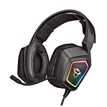Trust Gaming GXT 450 Blizz RGB 7.1 Gaming Headset for PC and Laptop, Led Illuminated - Black