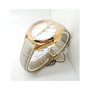 Tissot Damen-Uhren Analog Quarz One Size Leder 86738635