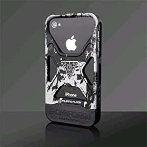 Rokform 370437 Rokbed Fuzion Filipino Flash Case for iPhone 4/4S - 1 Pack - Retail Packaging - Black