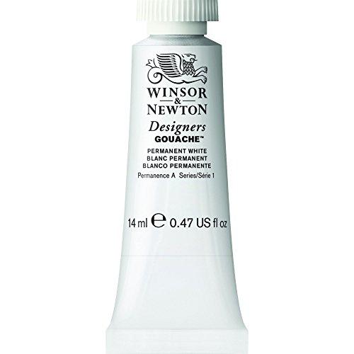 Winsor & Newton- Tubetto di guazzo per artisti, 14 ml N/A bianco