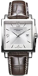 HAMILTON AMERICAN CLASSICS JAZZMASTER SQUARE HOMME 38MM DATE MONTRE H32415555