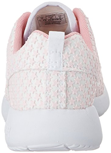 L.A. GearSunrise - Pantofole Donna Weiß (white/pink/stars)