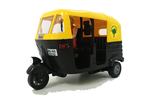 Jack Royal CNG Auto Rickshaw Toy - Black