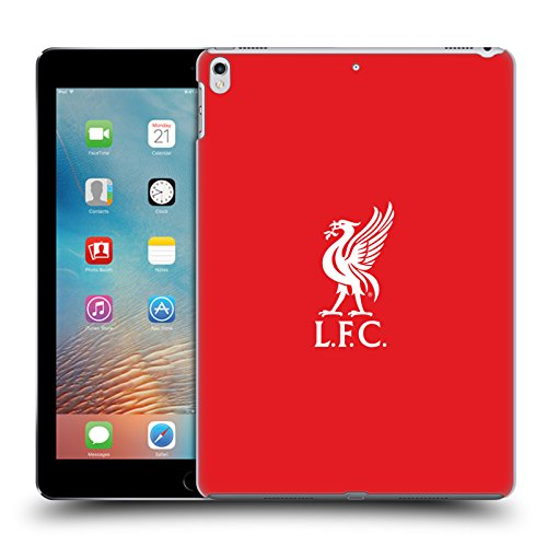 6f0575f9d Official Liverpool Football Club White Logo In Red Liver Bird Hard Back Case  for iPad Pro