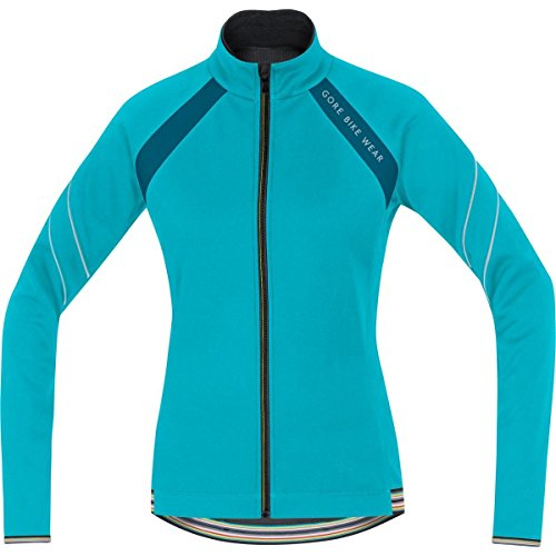 GORE BIKE WEAR Damen Warme Fleece Soft Shell Rennrad-Jacke, GORE WINDSTOPPER, POWER LADY 2.0 WS SO Jacket, Größe: 38, Türkis/Petrol, JWWPOW (Power Lady Tights 2.0)
