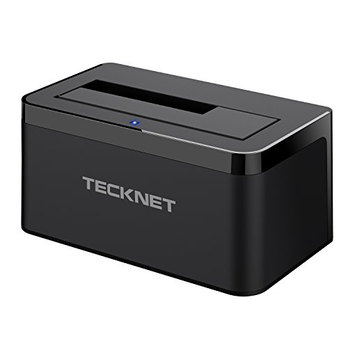 tecknet-usb-30-hard-drives-docking-station-with-highly-durable-abs-plastic-for-25-inch-35-inch-sata-
