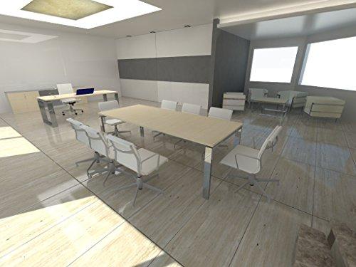 mesa-de-reuniones-ofiplus-200x80cm-marco-abierto-maple-envio-gratuito-a-peninsula