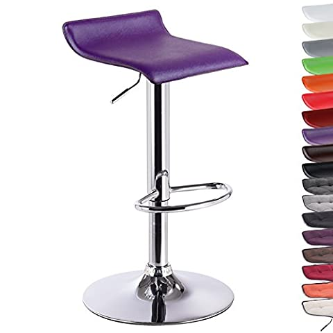 WOLTU BH11vl-1 Adjustable Bar Stool with Handle Artificial Leather Bar