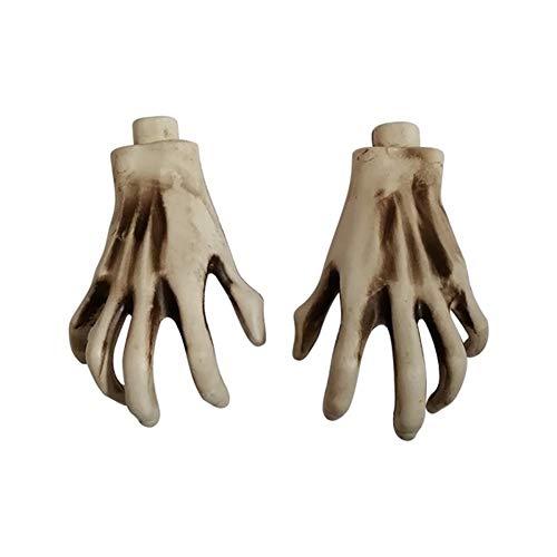Haunted Props - Yangshan 1 para Kunststoff Skelett Hände
