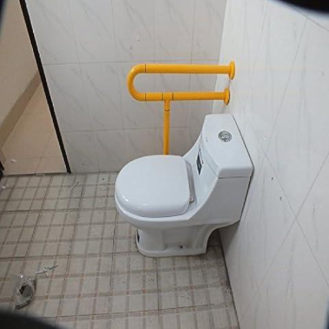 KHSKXPasamanos sin barreras un lado asiento de inodoro wc barandillas de acero inoxidable barandillas de seguridad higiénico