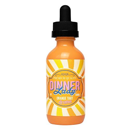 Dinner Lady e-Liquid Orange Tart, Shake-and-Vape für Ihre e-Zigarette, 0.0 mg Nikotin, 50 ml
