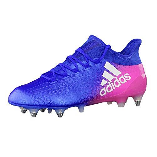 adidas X 16.1 Sg, Scarpe per Allenamento Calcio Uomo Blu (Azul/Ftwbla/Rosimp)
