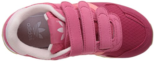 adidas Zx 700 Cf C, Chaussures de Sport Garçon Rose (Craft Pink/Ray Pink/Ftwr White)