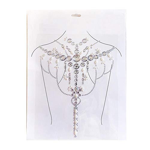 Körper Schmuck Tattoo Tatoo Sticker Glitzer selbstklebend Bodyart Body Jewels