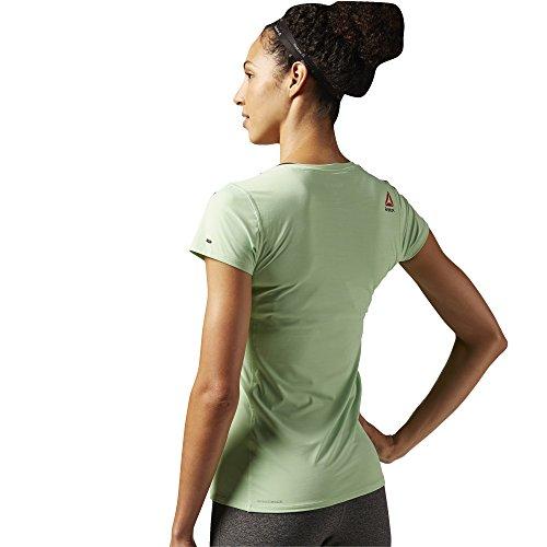 Reebok Damen ONE Series ACTIV Chill T-Shirt Seafoam Green