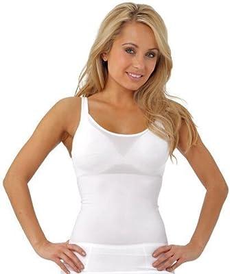 JML Belvia Shapewear para Mujer, Top Body Shaper adelgazamiento chaleco transpirable invisible Elástico Sin costuras Barriga Vientre Cintura Trimmer Control Firming corsé Cinch