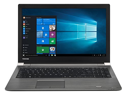 TOSHIBA Tecra A50-D-10M Laptop (Intel i5-7200U, 39,6cm 15,6Zoll Full-HD entspiegelt, 8GB RAM, 256GB SSD, WLAN, Bluetooth 4.2, LTE, Windows 10 Pro) grau