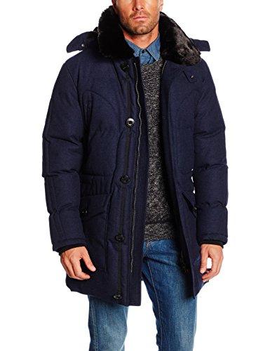 Petrûs Herren Steppjacke Jacke Opal, Gr. Large (Herstellergröße: L), Blau (Peacoat Blue 001)