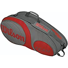Wilson Raquetero Team 6Pk Bag Gurd Gris / Rojo