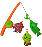 Blossom Fishing Toy with 1 Fishing Rod w...