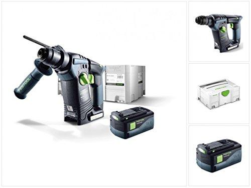 Preisvergleich Produktbild Festool BHC 18 Li Basic Akku Bohrhammer SDS-Plus ( 574723 ) im Systainer + 1x BP 18 Li 5,2 AS ( 200181 )