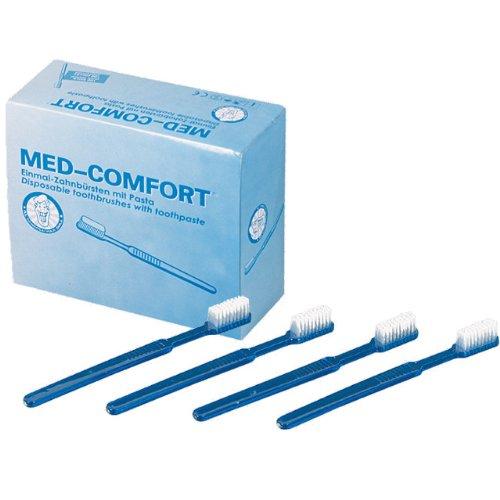 Med-Comfort Einmal Zahnbürsten - 100 Stück