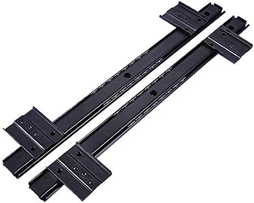 LJWLZF Kugelgelagerte Tastatur, Schublade ausziehbar, einstellbare Aufhängung, Aufhängungshalterung -