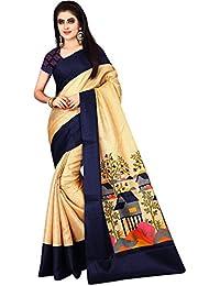 Nirmla Fashion Khadi Cotton Saree With Blouse Piece(Saree For Jupadi Catalog_Free Size)
