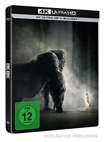 King Kong - 4K Ultra HD Limited Steelbook [Blu-ray]