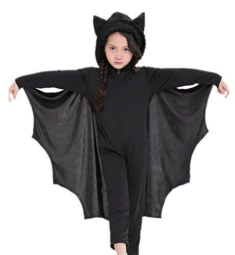Batman Theater Kostüm - Kauftree Kinder Junge Mädchen Schwarz Kostüme