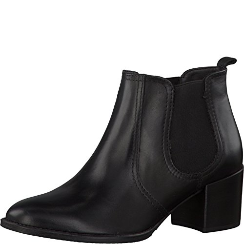 Tamaris 1-25381-27 Damen Stiefelette Black Leather