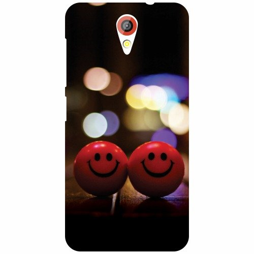 Printland Smileys Back Cover For Htc Desire 620G