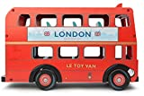 Le Toy Van Wooden London Bus with Budkin Driver