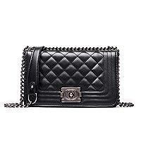 Worthititit Women Shoulder Bag & Ladies Chain Handbags Faux Leather Crossbody Wallet Mobile Phone Shoulder Pouch