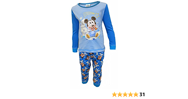 Strong Souls Baby Boys Character Long Pyjamas Pjs