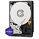 "WD Purple WD40PURX - Disco duro para videovigilancia de 4 TB (Intellipower, SATA a 6 Gb/s, 64 MB de caché, 3,5"")"