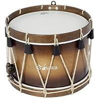 LP Latin Percussion ES-6 Salsa timbal cencerro de acero cepillado montable