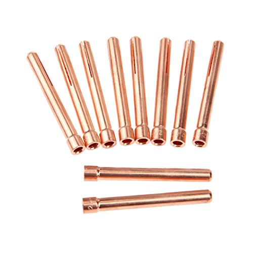 10 Stück 0,95 cm 10N24 2,4 mm WIG-Spannzangen für WP17 18 26 WIG-Schweißbrenner Serie - Miller Collet