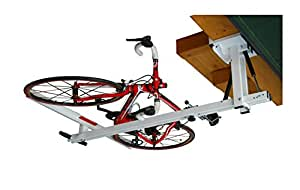 flat bike lift the new overhead rack to store the bikes flat to the garage ceiling. Black Bedroom Furniture Sets. Home Design Ideas