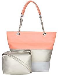 ADISA AD3016 women handbag with sling bag combo