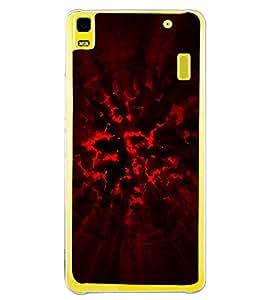 Explosion 2D Hard Polycarbonate Designer Back Case Cover for Lenovo K3 Note :: Lenovo A7000 Turbo
