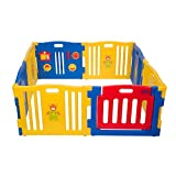 Best Baby Play Pens - MCC Plastic Baby Playpen 8 Sides with Activity Review
