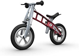 FIRSTBIKE - Bicicleta de Equilibrio con Freno, Modelo Street, Color Rosa (L2007)