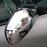Pour 2004-2012 307 CC SW 407 Porte Côté Rétroviseur Couverture Chrome Vue Arrière Cap Accessoires 2pcs par Set Voiture Stying