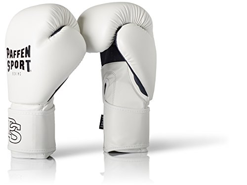 Paffen Sport FIT Boxhandschuhe für das Training; weiß; 12 UZ