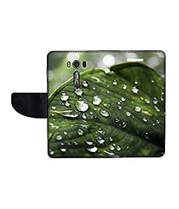KolorEdge Printed Flip Cover For Asus Zenfone Go 16GB Multicolor - (1478-50KeMLogo10936ZenGo)