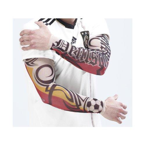 x-skin Deutschland Tattoo Ärmel - Die FANsation! Design mit altdeutscher Schrift