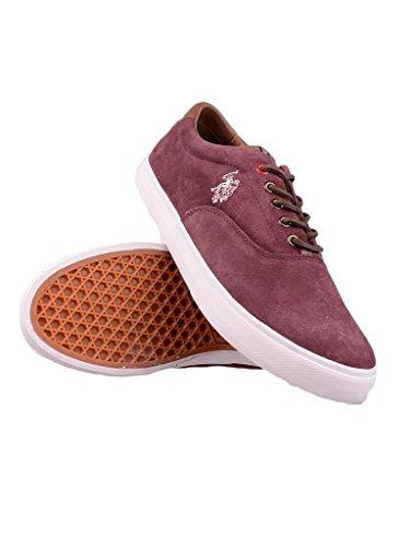 us-polo-association-zapatillas-para-hombre-morado-bordeaux