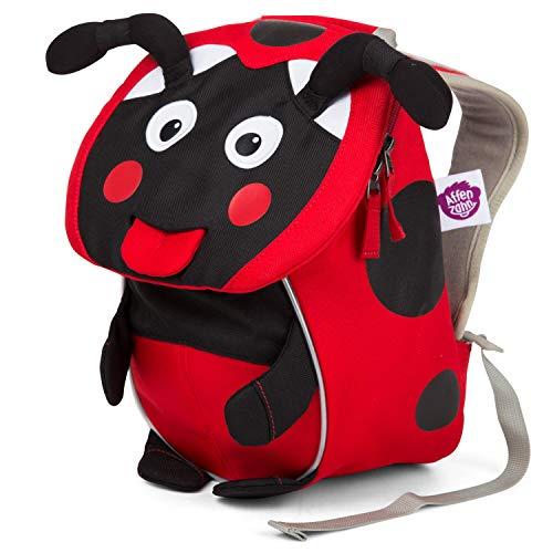 Affenzahn Kinder-Rucksack mit Brustgurt Maja Marienkäfer für 1-3 Jährige Jungen und Mädchen im Kindergarten oder Kita der Kleine Freund